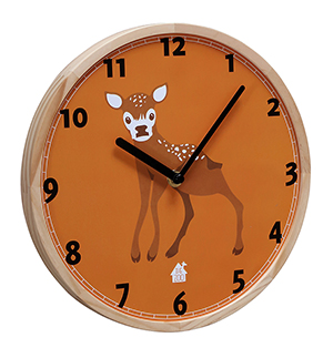 Wallclock Forest Animals (babydear)